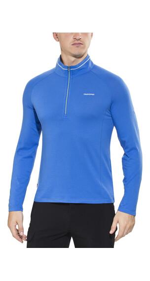Craghoppers NosiLife Felix LS Zip Men Sport Blue